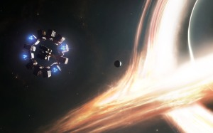 Spaceship Endurance and Gargantua